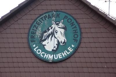 Lochmühle Logo Freizeitpark Ponyhof