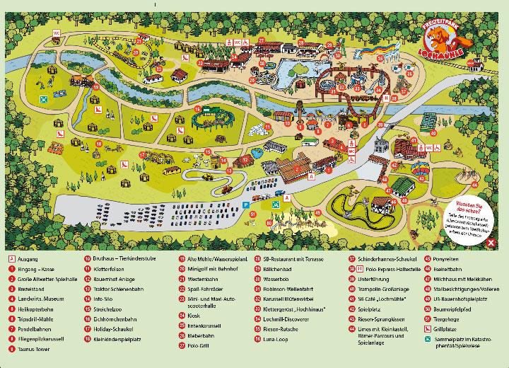 Lochmühle Parkplan