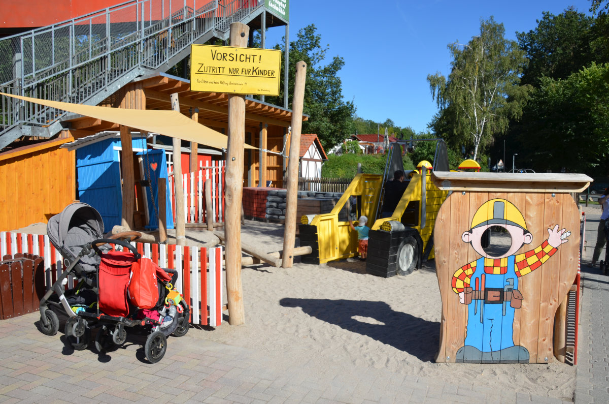 Lochmühle Baustellenspielplatz