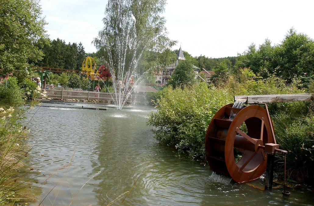 Lochmühle Park view