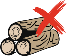 No log of wood