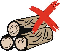 No log of wood