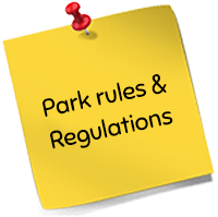 Park rules & Regulations
