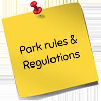 Park rules & Regulations