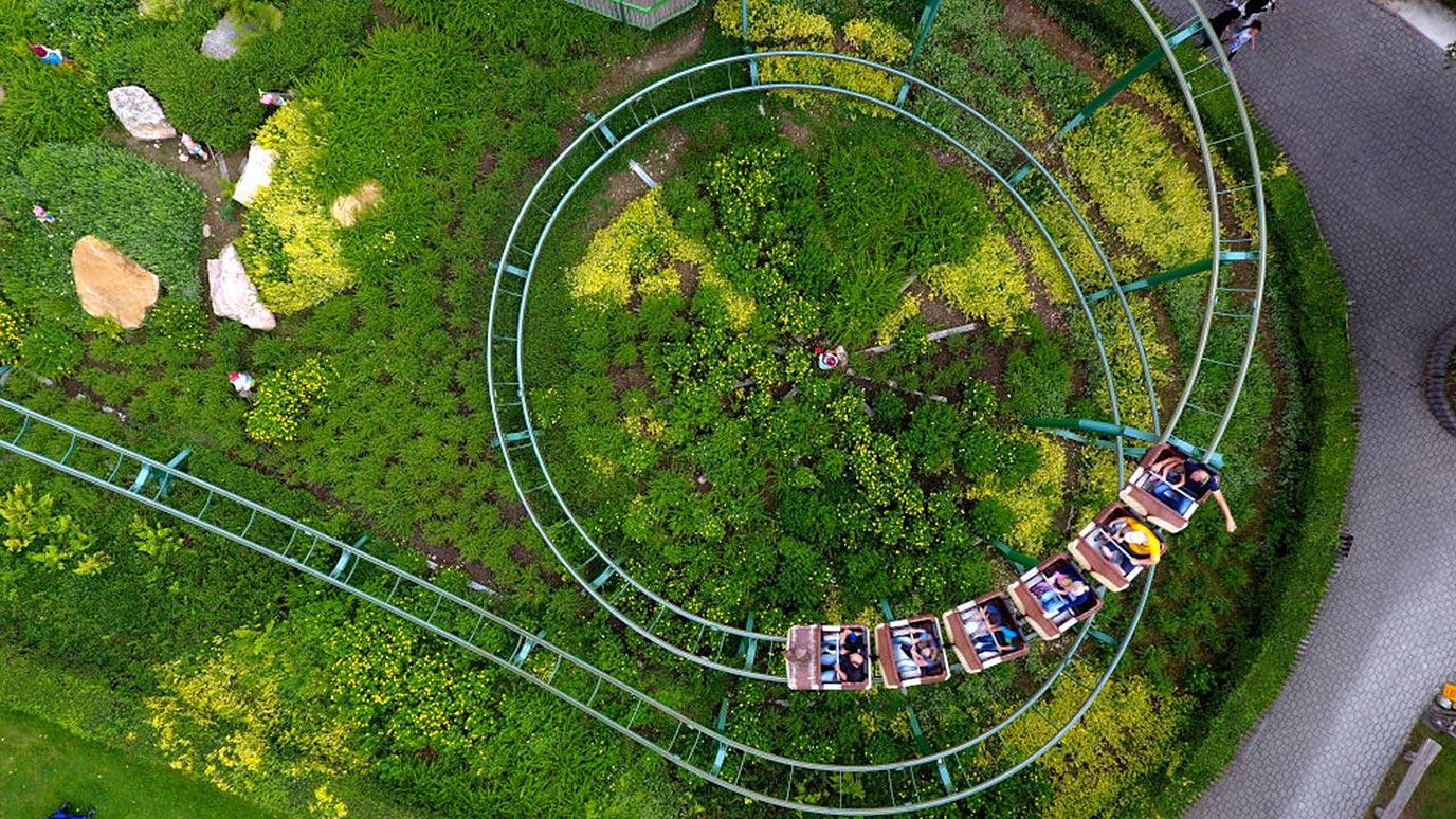 Lochmühle Achterbahn